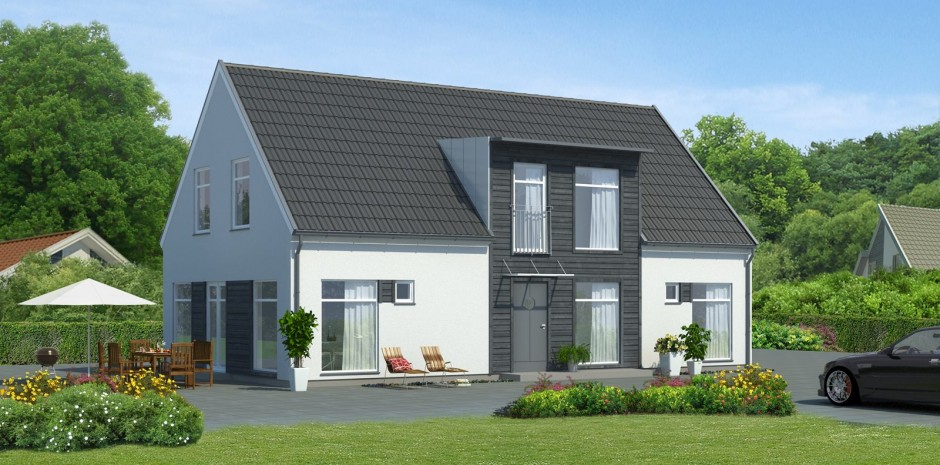 Linduu a 3 4 bedroom timber framed self build home from for Modern family house 90210