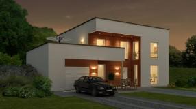 Modern Scandinavian Homes timber framed homes - self build from scandinavian homes