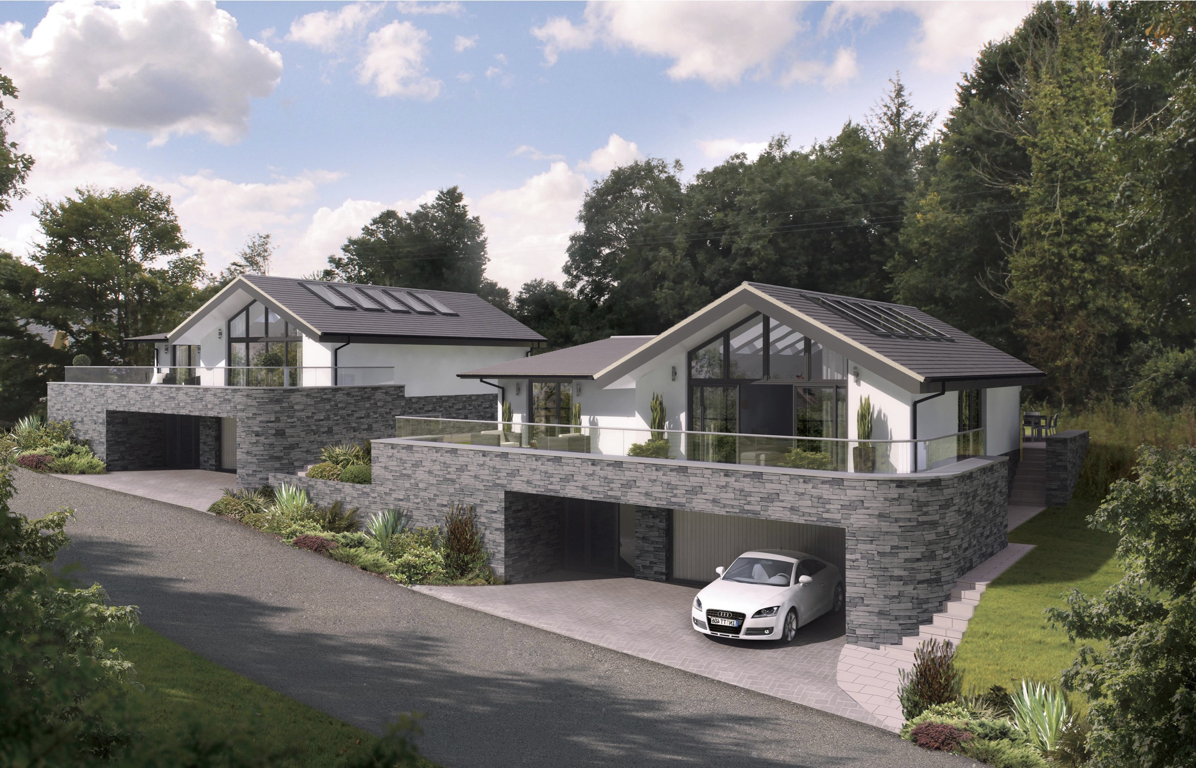 Scandinavian homes has recently signed a deal to provide two luxury holiday homes on the north coast of cornwall these beautiful four bedroom luxury homes