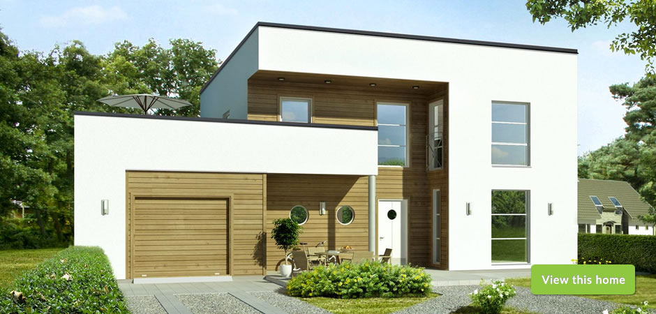 Scandinavian House Designs timber framed homes - self build from scandinavian homes